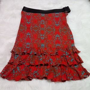 Jean Paul Gaultier Classique Ruffle-Accented Skirt